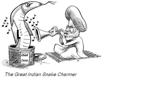 The Great Indian 'Snake Charmer'.